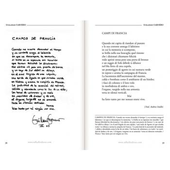 Poesie autografe di autori spagnoli contemporanei p. 38-39