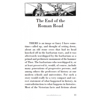 The End of the Roman Road p. 11